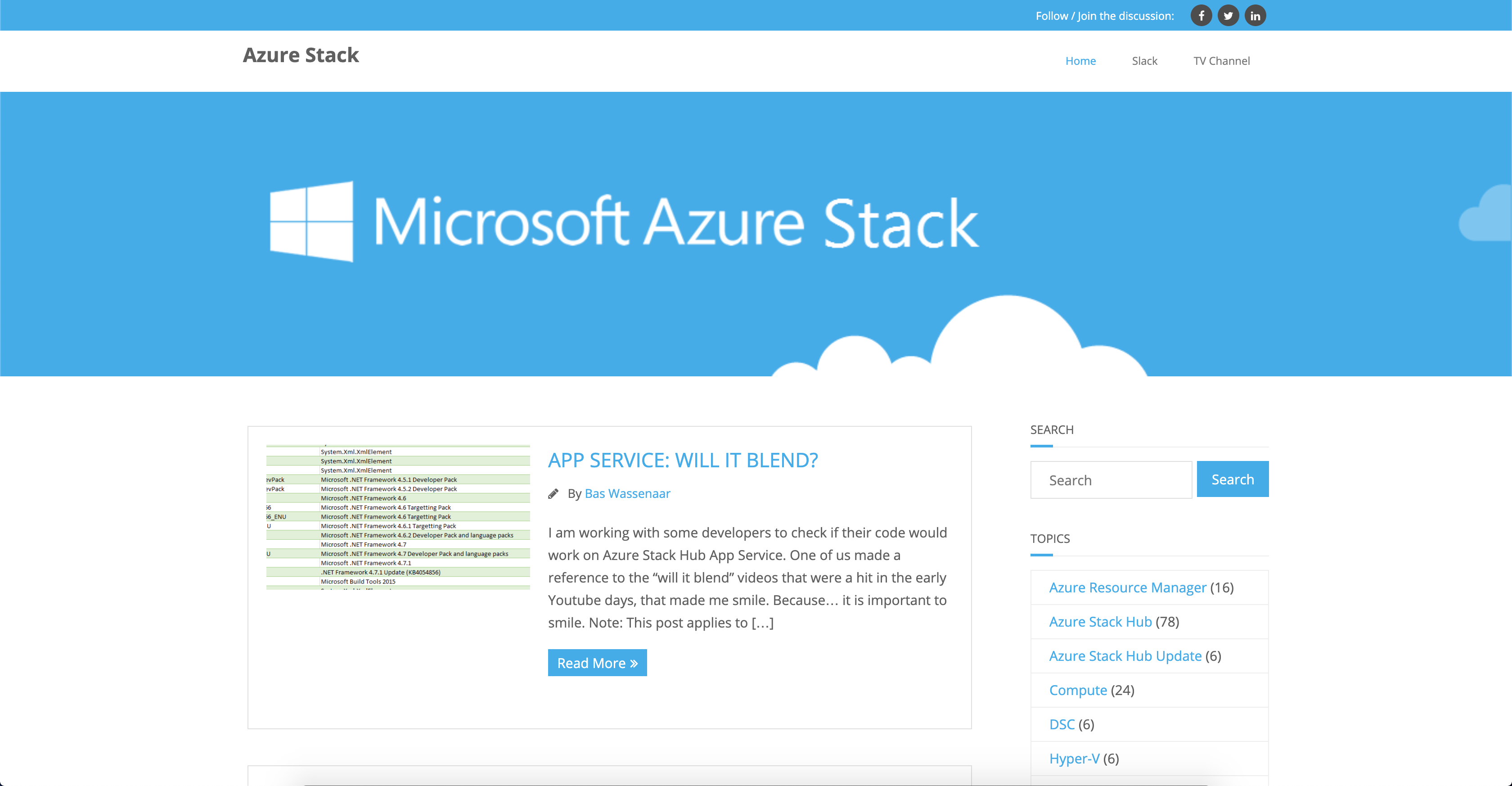 AzureStack Blog
